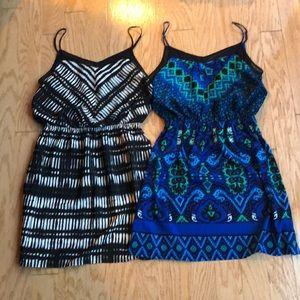 2 NWOT Express Dresses